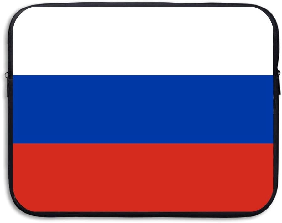 Flag Of Russia Sleeve Laptop Bag Tablet Case Handbag Notebook Messenger Bag For Ipad Air Macbook Pro Computer Ultrabook 13-15 Inches
