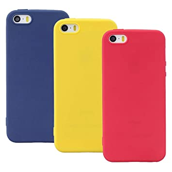 EuCase 3X Funda iPhone 8 Silicona Carcasa iPhone 7 ...