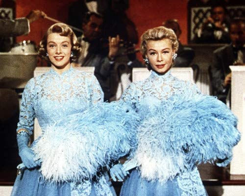 Vera Ellen And Rosemary Clooney In White Christmas From 8x10 Aluminum Wall Art At Amazon S Entertainment Collectibles Store