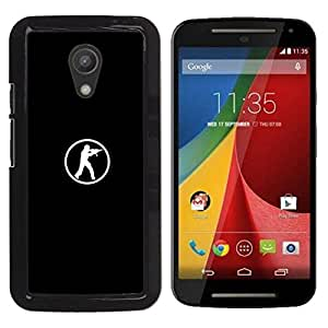 FU-Orionis Colorful Printed Hard Protective Back Case Cover Shell Skin for Motorola G 2ND GEN II - Lets Go - Heat - Basketball