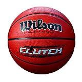 Wilson Clutch Basketball, Brown, Official - 29.5'