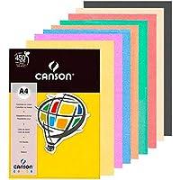 Papel Canson Color Plus 120g Vivaldi A4 com 15 folhas