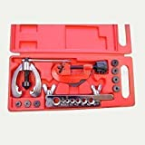 371215 Imperial Copper AC Brake Pipe Double Flaring Tool Kit Tube Cutt