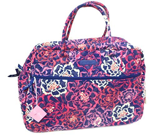 Vera Bradley Grand Traveler Updated with Solid Interior 14371 (Katalina Pink)