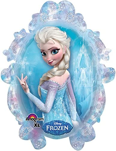 amscan 110087-01 Eisk/önigin Folienballon Frozen ELSA The Snow Queen
