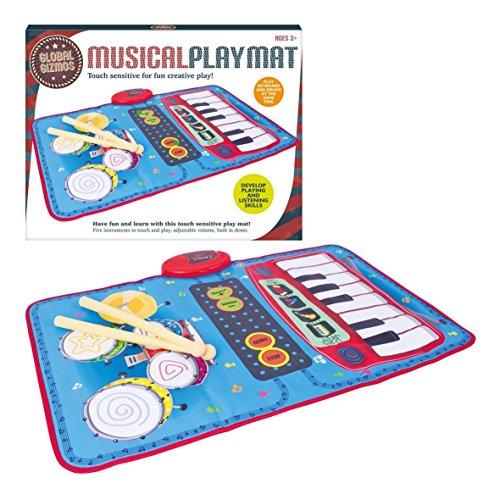 Global Gizmos Keyboard Drum Kit Playmat,