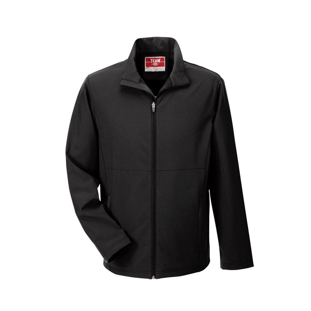 Ash City Apparel Team 365 Mens Leader Soft Shell Jacket (XXXX-Large, Black)