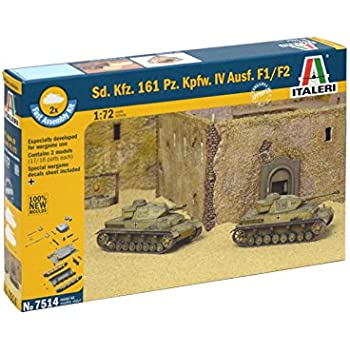 Amazon.com: Italeri 1: 72 510007515 – Russian Tank T 34/85 ...