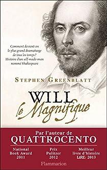 Will le Magnifique par Greenblatt
