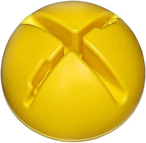 giallo riempibile Base a X riempibile per aste da slalom//ostacolo e cerchi
