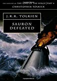 Book cover from Sauron Defeated (History of Middle-Earth) by J.R.R. Tolkien