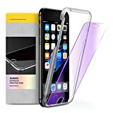 glass blue light - iPhone 7 6S 6 Screen Protector, HUMIXX 9H Shockproof Blue Light Filter Anti-Scratch Ultra Thin Premium Tempered Glass Film for iPhone 7,6s,6 (4.7 inch)