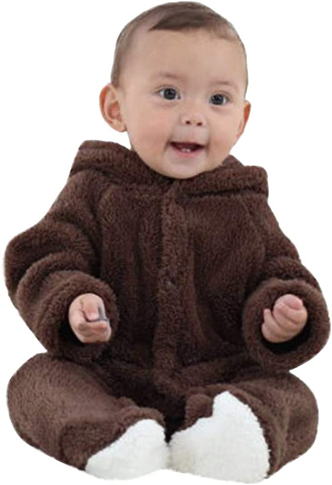 NEWBABY I Still Live with My Parents Newborn Baby Long Sleeves Onesie Rompers for 6-24m Baby