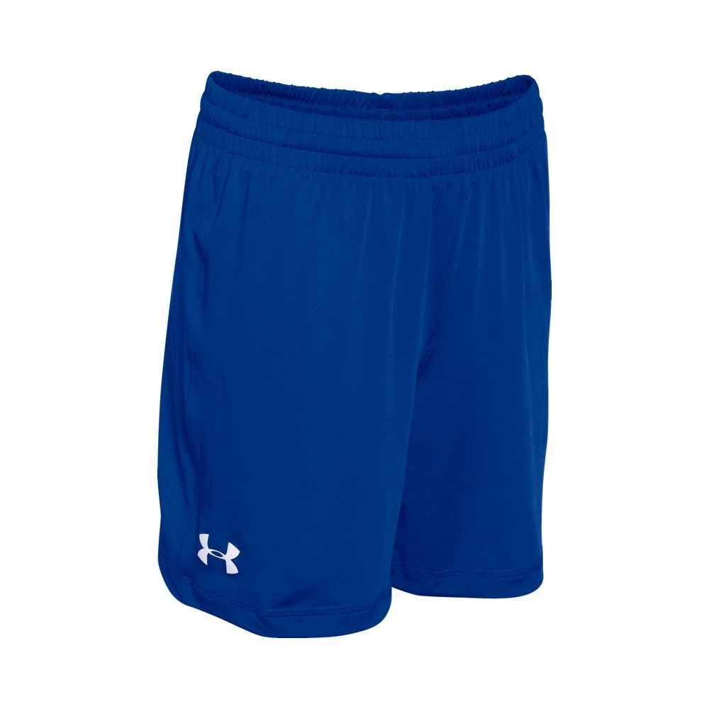 Under Armour Boys HeatGear Athletic Shorts Blue White