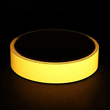 Luminous Tape Home Stage Decorations Car reflective strip Green Fluorescent