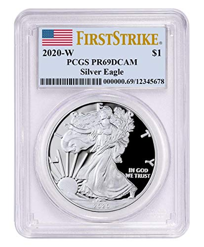 2017-W American Silver Eagle Proof PCGS PR69 DCAM First Strike