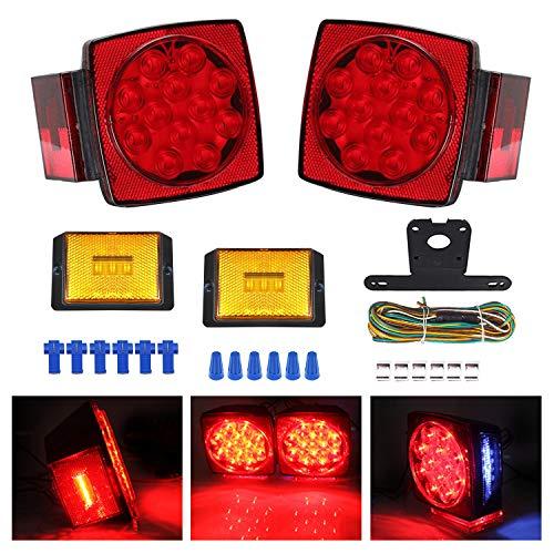 Boat Trailer Light Kit Waterproof 12V for Submersible Heavy Duty Utility Led Trailer Lights (Trailer light)