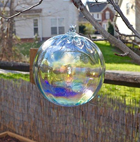"""Bosmere W600 Bubble Glass Ornament for Garden, 7.5"""", Rainbow"""