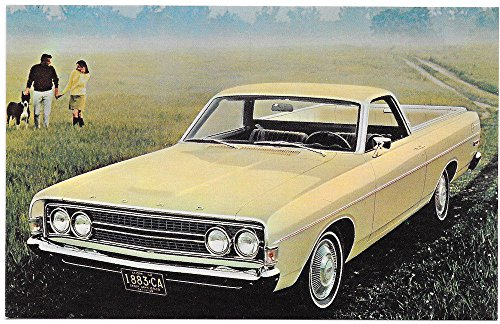 (Advertisement Postcard for the 1968 Ranchero Pickup Truck by Ford~97960)