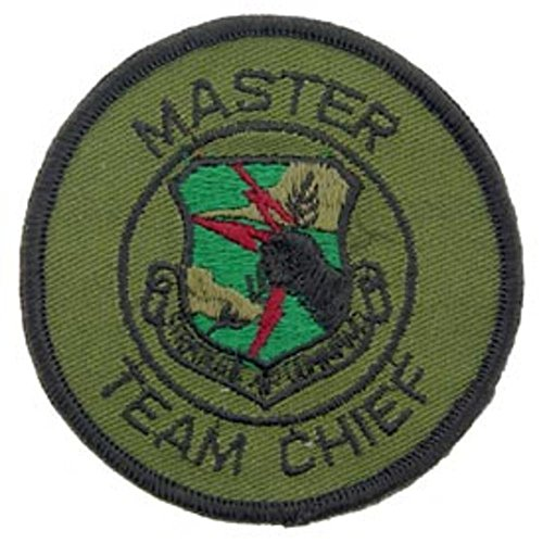 U.S. Air Force SAC Master Team Chief Patch Green for sale  Delivered anywhere in USA
