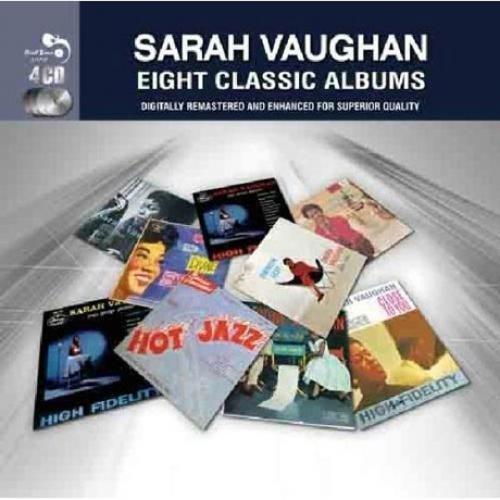 Vaughan Cd Album - EIGHT CLASSIC ALBUMS by SARAH VAUGHAN [Korean Imported] (2012)