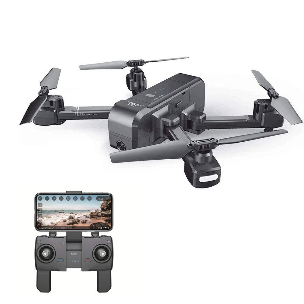 DSstyles SJRC Z5 WiFi FPV con cámara 1080P Doble GPS dinámico ...