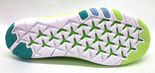 Nike Kvinder Fri Transformering Flyknit Elektrisk Grøn / Hvid-hyper Jade-bluecap 833410-302 - Størrelse 10 D4mXPe4V