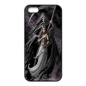 High Quality {YUXUAN-LARA CASE}Santa Muerte For Apple Iphone 5 5S STYLE-7