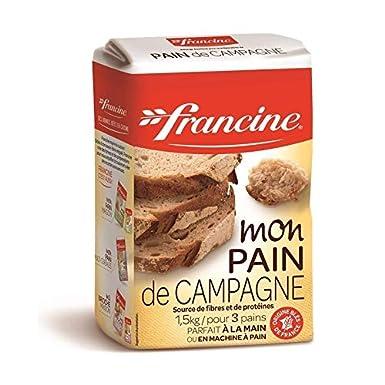 Francine - Pan De Harina De 1,5 Kg País - Lot De 4 - Precio ...