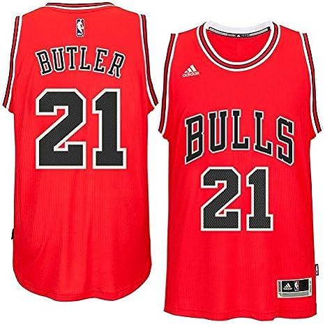 adidas Jimmy Butler Chicago Bulls #21 NBA Youth New Swingman Road Jersey