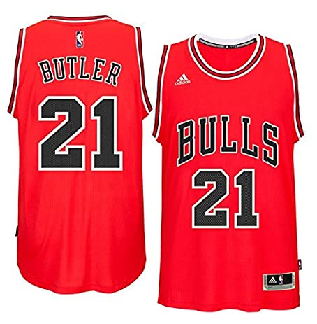 f987b292 ... Alternate Black Jersey Jimmy Butler Chicago Bulls 21 NBA Youth New  Swingman Road Jersey (Youth Small ...