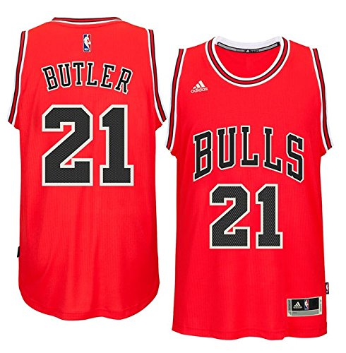 Jimmy Butler Chicago Bulls #21 NBA Youth New Swingman Road Jersey (Youth Small 8)