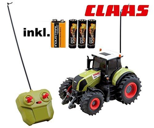 RC ferngesteuerter Traktor Claas Axion 850 Maßstab 1:20 inkl. allen Batterien RTR - Sofort Spielbereit - LIZENZ NACHBAU
