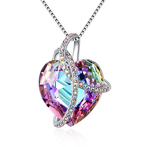 Mother's Day Gift PLATO H Heart Pendant Necklace