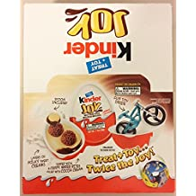 Kinder Joy Chocolate Surprise Egg with Toy Inside ~ Case of 12