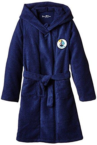 Ben & Lea Unisex Kinder  Bademantel, Gr. 134 (Herstellergröße: 134/140), Blau