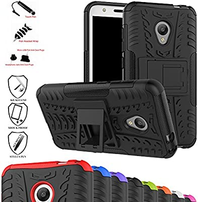 MAMA MOUTH Alcatel U5 Funda, Heavy Duty Silicona híbrida con ...