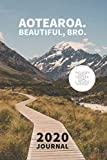 Aotearoa. Beautiful, bro. New Zealand Planner / 90 Day Journal: Includes Vision and Goal System - Beautiful New Zealand Diary 2020