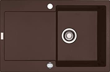 Franke Maris Mrg 611 Chocolate Granit Kuchenspule Braun Exzenter