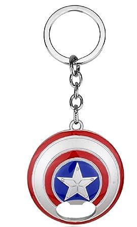 Amazon.com: Marvel s escudo de Capitán América abridor de ...