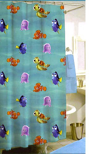 Image Unavailable Not Available For Color Disney Finding Nemo Shower Curtain