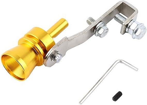 Fansport Turbo Whistle, Simulador de Válvulas Accesorios para Tubos de Escape de Coches Turbo Sound Whistle
