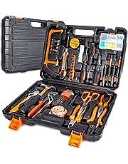 102-delige gereedschapskoffer, premium universele gereedschapskist, huishoudelijke gereedschapsset met een groot aantal gereedschappen