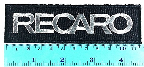 black-recaro-logo-sign-sponsor-motorsport-car-racing-logo-jacket-t-shirt-diy-iron-on-sew-on-patch-em