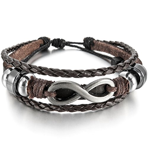 INBLUE Genuine Bracelet Infinity Adjustable product image