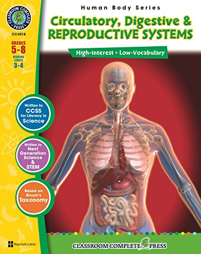 Download Circulatory, Digestive, Excretory & Reproductive Systems Gr. 5-8 Pdf