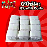 Master Plaster Magic Trick White Mouth Coils 12 Pieces Per Pack