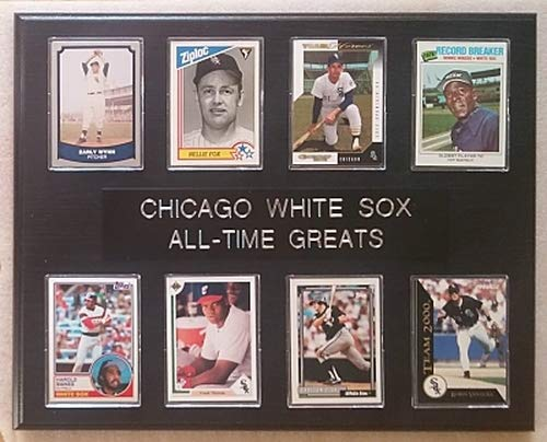 (Frames, Plaques and More Chicago White Sox All-Time Greats 12x15 Black-Oak Plaque)
