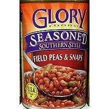 Glory Seasoned Field Peas & Snaps 14.5Oz (Pack of 6)