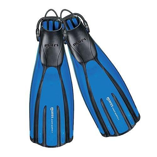 Scuba Diving Fins. Mares Avanti Quattro Plus Open Heel Bungee Strap Fin